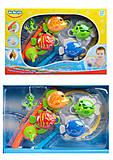Набор для купания «Рыбалка с удочкой и сачком», 58077, купить игрушку