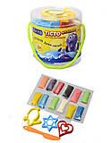Детский набор для лепки с формочками, 31000