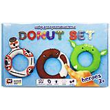 """Набор для лепки """"Donut Set Heroes"""" , 70089, отзывы"""
