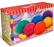 Набор для лепки Мега с крышкой 6 цветов TrueDough, 23007, набор