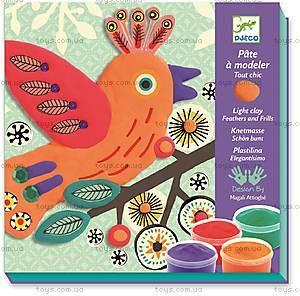 Набор для лепки «Пластилиновая птица Шик», DJ08912