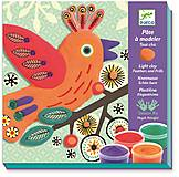 Набор для лепки «Пластилиновая птица Шик», DJ08912, отзывы