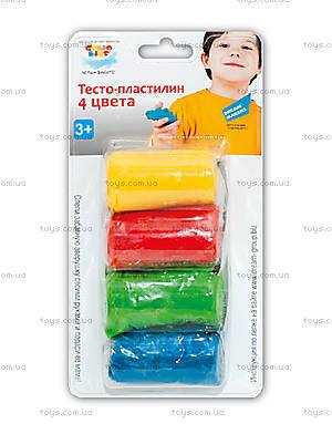 Набор для лепки «Тесто-пластилин», 4 цвета, TA1055B