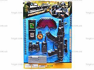 Набор для мальчиков с автоматом, PM-06