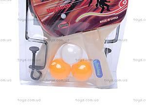 Набор для настольного тенниса с мячиками, W02-4609, купить