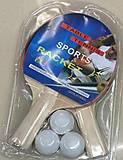 Набор для настольного тенниса, 3 мячика, PP0102, детские игрушки