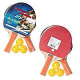 Набор для настольного тенниса BT-PPS-0055 (ракетки + 3 мяча), BT-PPS-0055, toys