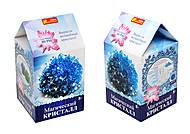 Набор для опытов «Магический кристалл. Синий», 12138012Р