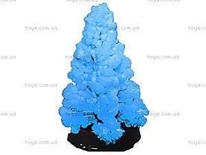 Набор для опытов «Сад пушистых кристаллов. Елка в кристаллах», синий, 0257, фото