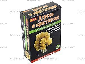 Набор для опытов «Сад пушистых кристаллов. Магический лес», оранжевый, 0260, цена
