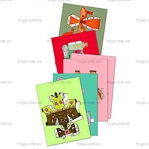 Набор для оригами «Лесные животные», DJ09674, детские игрушки
