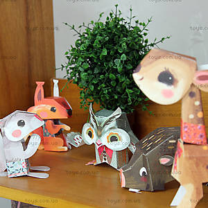 Набор для оригами «Лесные животные», DJ09674, магазин игрушек