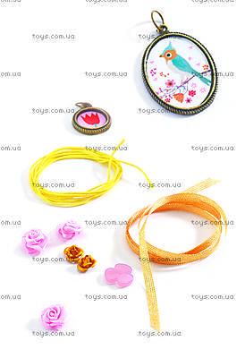 Набор для плетения «Цветы и жемчуг», DJ09801, фото