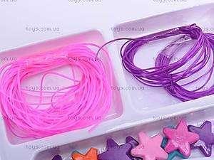 Набор для плетения фенечек, 11071A, магазин игрушек
