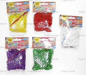 Набор для плетения цветными ароматизированными резинками, SV11787