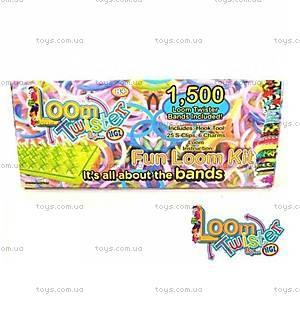 Набор резинок для плетения браслетов, 1500 штук, SV11754