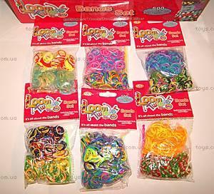 Набор для плетения цветными резинками, SV11790, фото