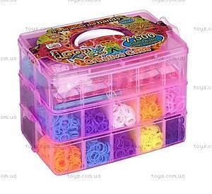 Набор для плетения резинками в чемодане, 7500 резинок, SV11841