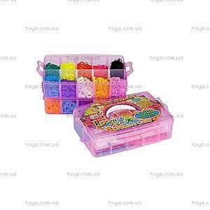 Набор для плетения резинками в чемодане, 7500 резинок, SV11841, фото