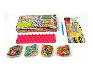 Набор для плетения резинками, 1000 резинок, SV11757, игрушки