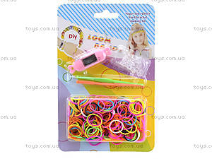Набор для плетения резинками «Часы Rainbow watch», AC-940, купить