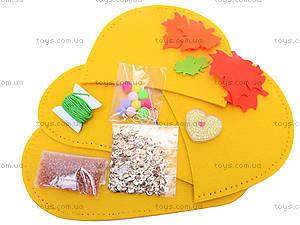Набор для пошива тапочек «Кленовые листья», 3163, фото