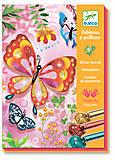 Набор для рисования блестками «Блестящие бабочки», DJ09503, купить