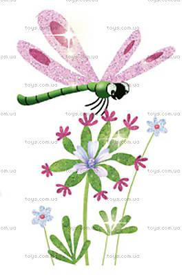 Набор для рисования блестками «Блестящие бабочки», DJ09503, цена