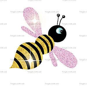 Набор для рисования блестками «Блестящие бабочки», DJ09503, игрушки