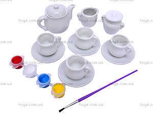 Набор для росписи «Чайный сервиз», 04541, отзывы