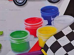 Набор для росписи «Гонки», 03544, игрушки