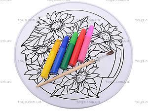 Набор для росписи по шелку «Подсолнухи», 32187