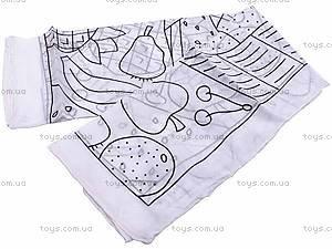 Набор для росписи шелкового шарфа «Фрукты», 32179, цена