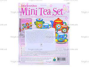 Набор для росписи «Чайный сервиз», 04541, іграшки