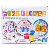 Набор для росписи «Мини-тарелки», 04637, детские игрушки
