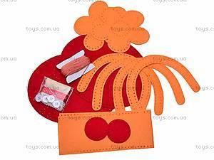 Набор для рукоделия «Красная сумочка», 9063, отзывы
