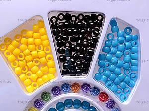 Набор для рукоделия с бусинками, 338-02, детские игрушки