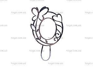 Набор для рукоделия «Зеркальце из бисера», 02711, фото