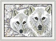 Набор для рукоделия «Волчья пара», D368, фото