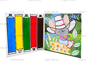 Набор для рисования «Палитра цветов. Мышонок», 5380, цена