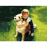 Набор для рисования по номерам «Лучший друг», MG1028, купить