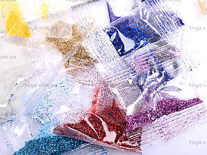 Набор для рисования «Раскраски глитером», РГН, цена