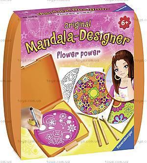 Набор для рисования Ravensburger «Мини Мандала: Сила цветов», 29753