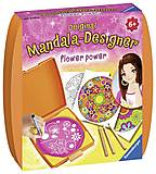 Набор для рисования Ravensburger «Мини Мандала: Сила цветов», 29753, фото