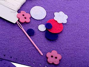 Набор для шитья косметички «Цветы», 31378, отзывы