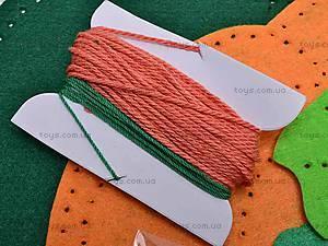 Набор для шитья прихватки «Тыква», 31371, фото
