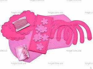 Набор для шитья «Розовая сумочка», 9068, фото
