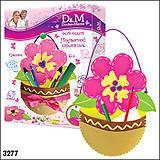 Набор для шитья шкатулки «Цветок», 3277, фото