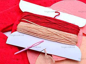 Набор для шитья шкатулки «Розочка», 32686, игрушки
