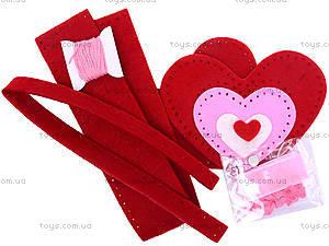 Набор для шитья шкатулки «Сердце», 3265, купить
